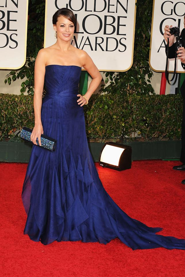 Berenice Bejo arrives at the 69th Annual Golden Globe Awards in Beverly Hills, California, on January 15.