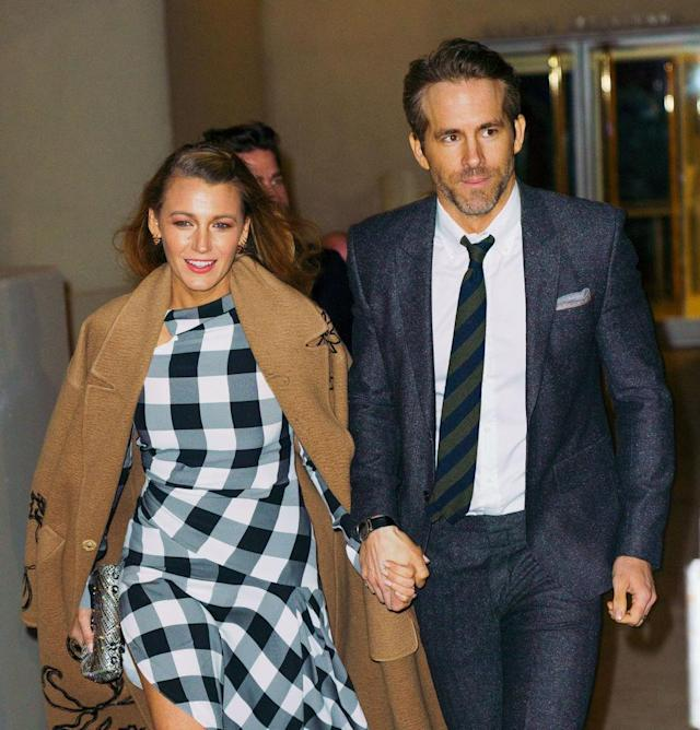 Blake Lively and Ryan Reynolds hit the red carpet together on March 22. (Photo: Gotham/GC Images)