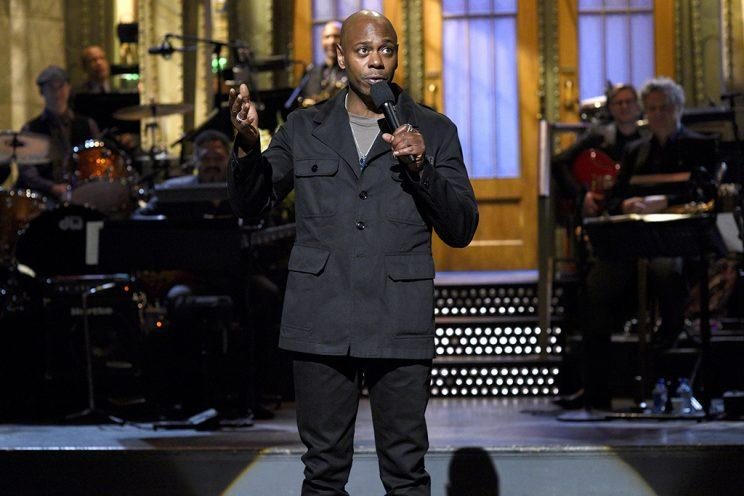 Dave Chappelle hosted Saturday Night Live on Nov. 12, 2016