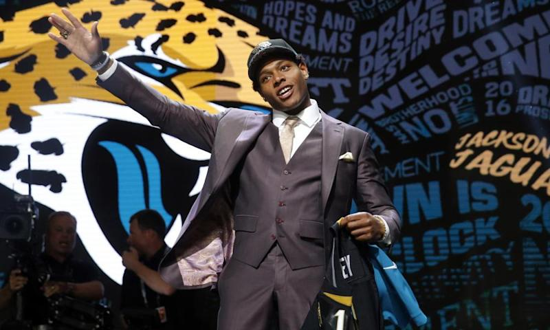 Jalen Ramsey was picked in the first-round of the 2016 draft by the Jacksonville Jaguars