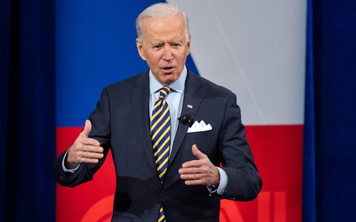Biden: White supremacists 'most unsafe  people' in America