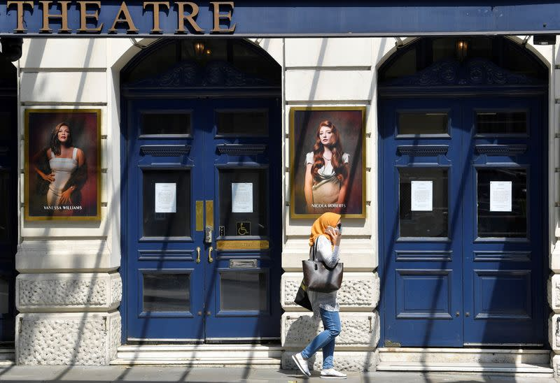 UK pledges boost for the arts as it eyes socially distant performances