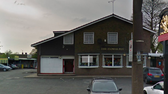 Attack: The incident happened at the Flower Pot pub at around 6:40pm, police confirmed. (Google Maps)