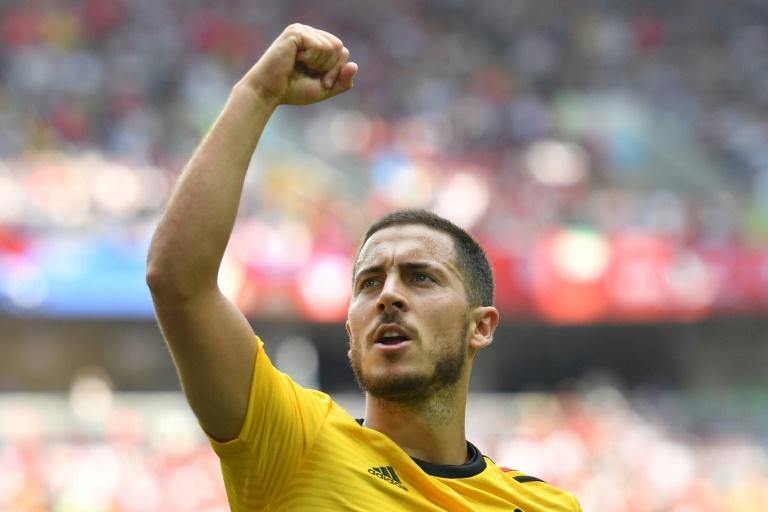 Belgium captain Eden Hazard says the Red Devils want to go all the way to the World Cup final after their 5-2 rout of Tunisia on Saturday left them on the verge of the last 16 in Russia