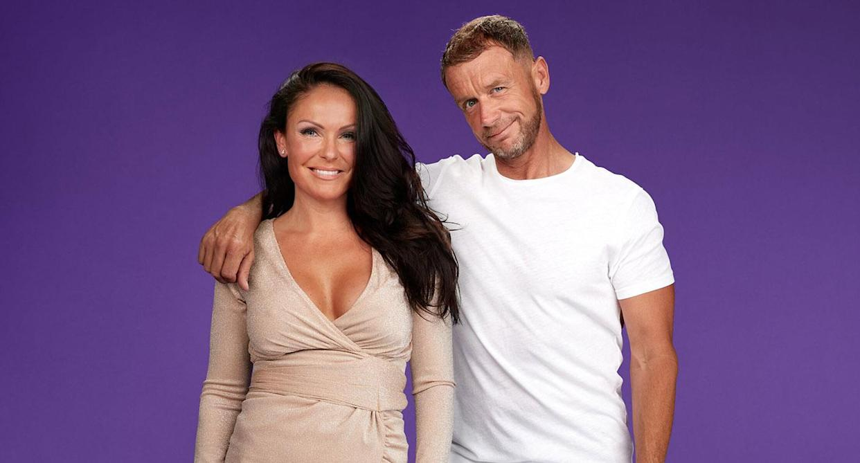 Marilyse Corrigan and Franky Spencer have split. (Channel 4)