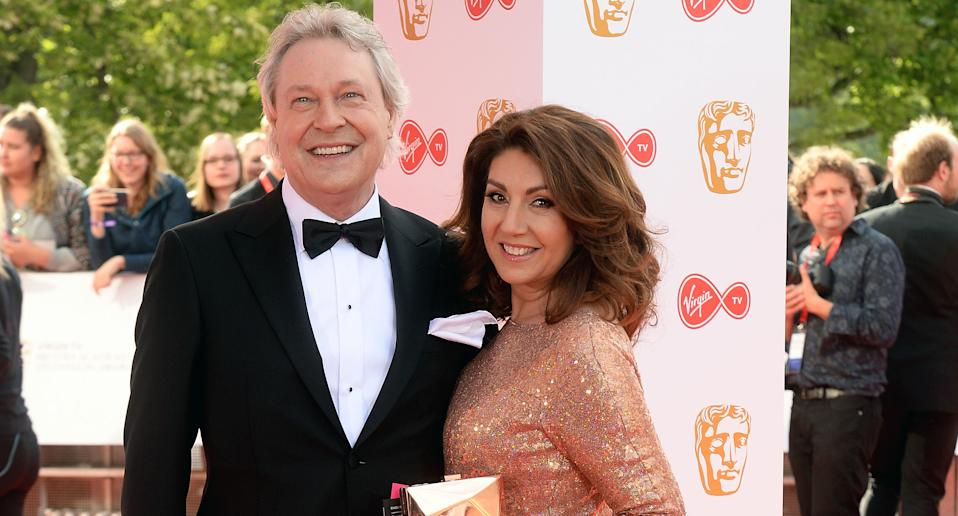 Jane McDonald's partner Eddie Rothe has died at the age of 67.  (Photo by Dave J Hogan/Dave J Hogan/Getty Images)