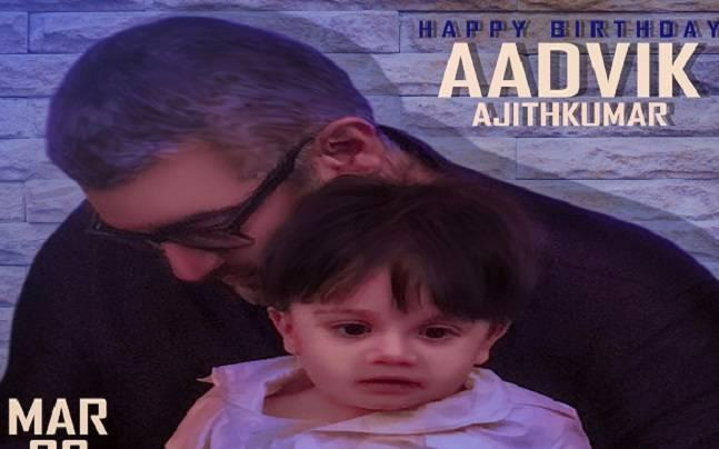 Happy Birthday Aadvik: Ajith Kumar fans wish Kutty Thala on Twitter