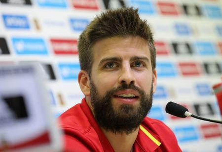 Pique commits to staying with Spain despite criticism