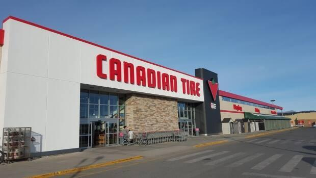 Yukon health officials have issued COVID-19 exposure notices for the Canadian Tire in Whitehorse on Sept. 6 and 7, and an Air North flight between Vancouver and Whitehorse on Sept. 12. (CBC - image credit)