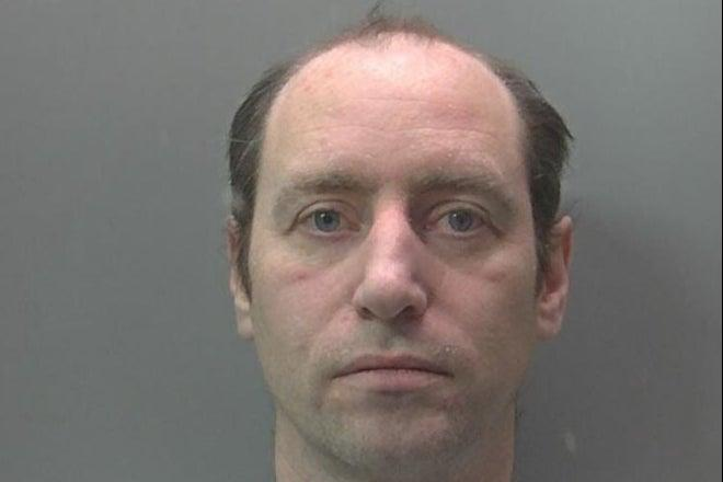<p>Andrew Wheeler who was found guilty at Peterborough Crown Court of six sexual offences</p> (Cambridgeshire Police/PA)