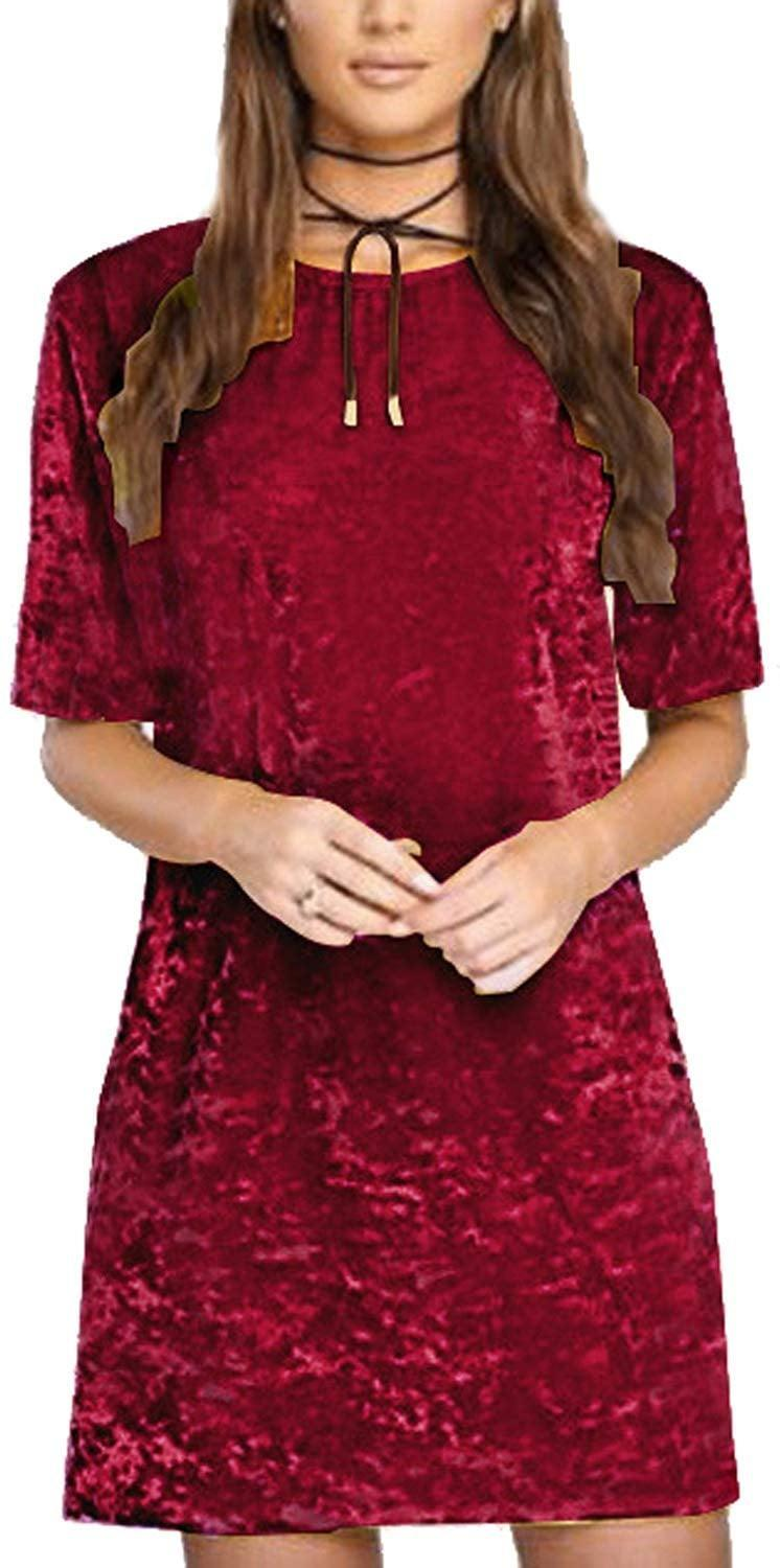 """<p>Be stylish yet casual in this <a href=""""https://www.popsugar.com/buy/RVivimos-Crushed-Velvet-Dress-512881?p_name=R.Vivimos%20Crushed%20Velvet%20Dress&retailer=amazon.com&pid=512881&price=13&evar1=fab%3Aus&evar9=46859993&evar98=https%3A%2F%2Fwww.popsugar.com%2Ffashion%2Fphoto-gallery%2F46859993%2Fimage%2F46860960%2FRVivimos-Crushed-Velvet-Dress&list1=shopping%2Camazon%2Choliday%2Cwinter%20fashion%2Choliday%20fashion%2C50%20under%20%2450%2Cgifts%20for%20women%2Caffordable%20shopping&prop13=mobile&pdata=1"""" rel=""""nofollow noopener"""" class=""""link rapid-noclick-resp"""" target=""""_blank"""" data-ylk=""""slk:R.Vivimos Crushed Velvet Dress"""">R.Vivimos Crushed Velvet Dress</a> ($13).</p>"""
