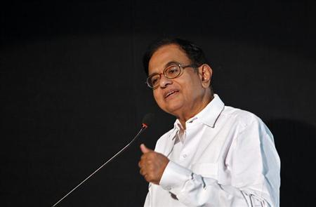 Finance Minister Palaniappan Chidambaram speaks at the Indian Private Equity and Venture Capital Association (IVCA) conclave in New Delhi July 16, 2013.