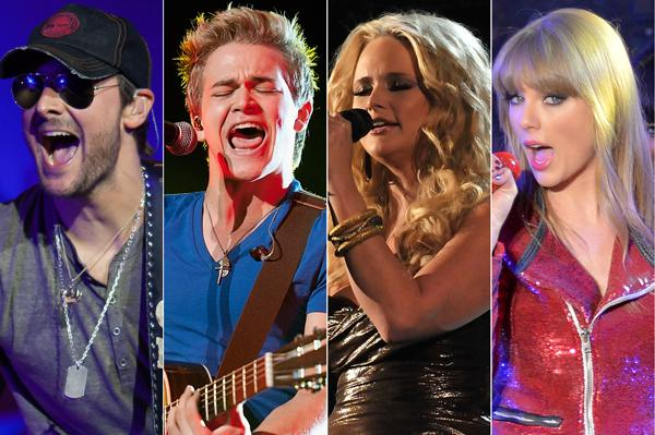 Eric Church, Hunter Hayes Lead Academy of Country Music Awards Nominees