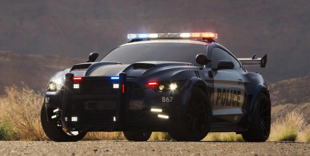 Barricade - 2016 Ford Mustang