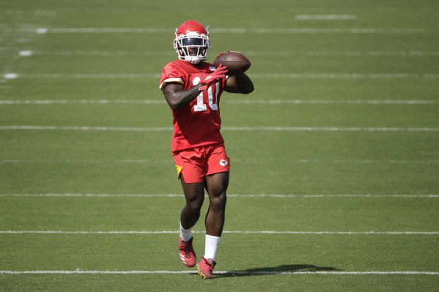 "Tyreek Hill on his return to the Chiefs: ""I learned to just appreciate those around me man, because I feel like I take that for granted sometimes. Being a professional athlete, I tend to not stay humble sometimes. I still love my kids and my family, but sometimes I feel like I take all of those things for granted."" (AP)"