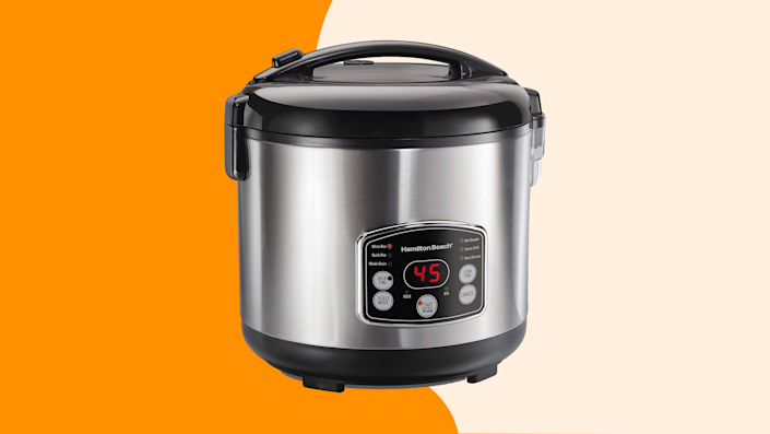 Shop Amazon discounts on one of our favorite rice cookers this weekend.
