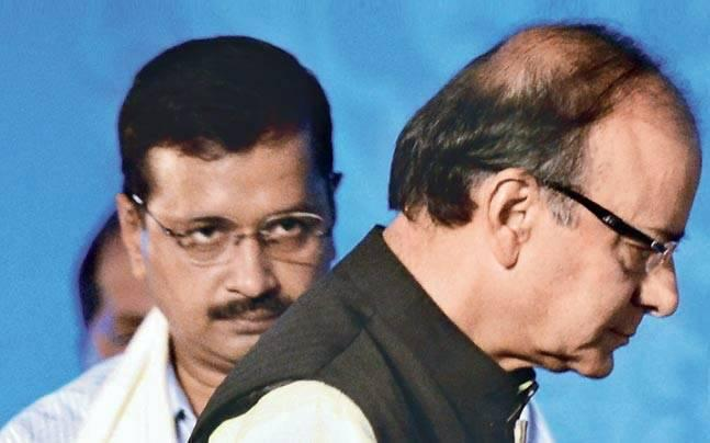 <p>Delhi High Court issues notice to Arvind Kejriwal asking him to respond to allegation made by Arun Jaitley that the AAP leader had filed a false affidavit. </p>