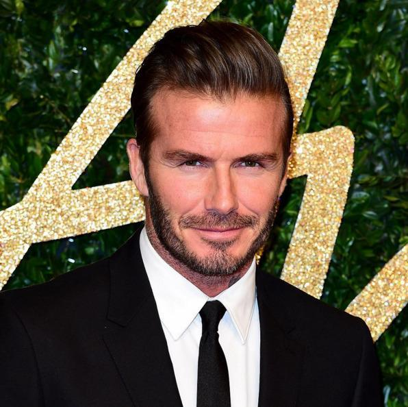 <p>As <i>People's </i>sexiest man alive, Becks can do no wrong. But we'll never forget his frosted tips. (Photo: Instagram)</p>