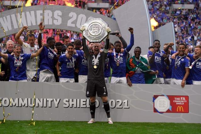 Leicester won the Community Shield