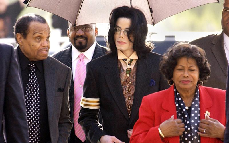 Michael Jackson with his mother Katherine - Getty Images North America
