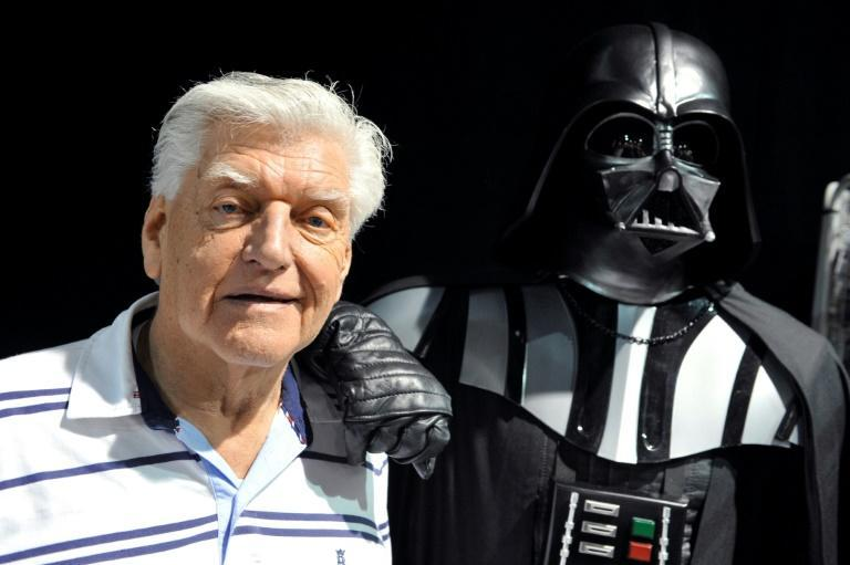 David Prowse (L), played Darth Vader but did not lend the character his voice