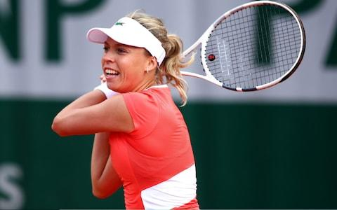 Kontaveit is coached by Nigel Sears – Andy Murray's father-in-law - Credit: GETTY IMAGES