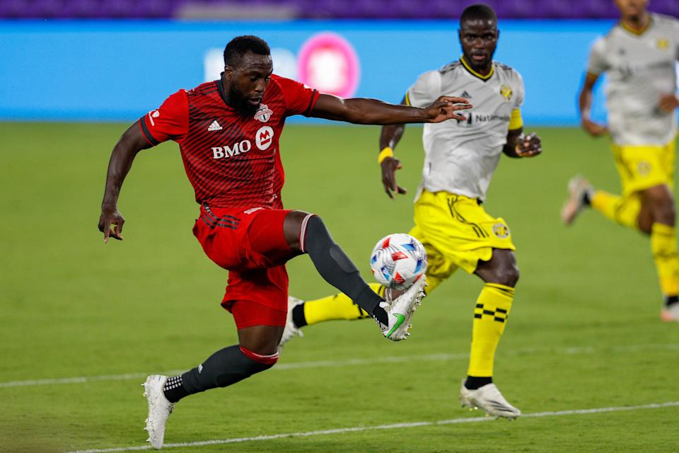 Jozy Altidore has appeared in four - starting two - of Toronto FC's 12 games this season.