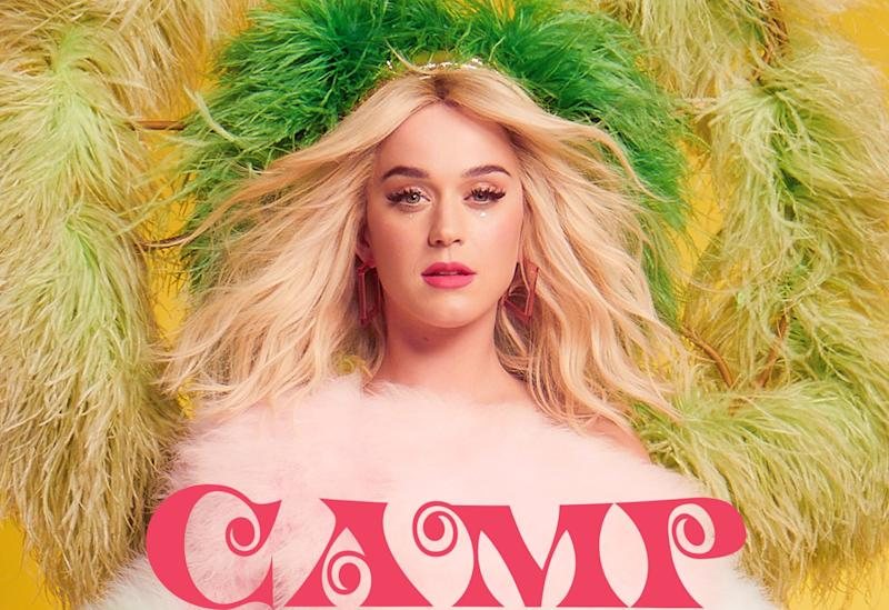 Katy Perry na capa de