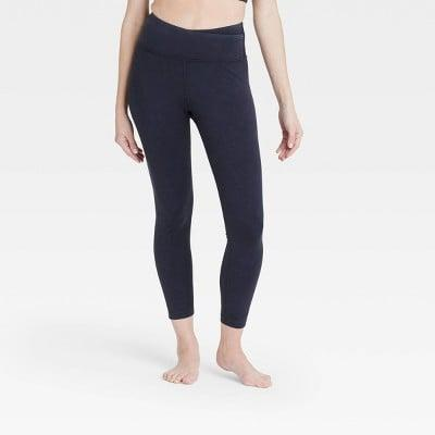 <p>Get in on the criss-cross leggings trend with these <span>JoyLab High-Rise Criss Cross Waistband 7/8 Leggings</span> ($34).</p>