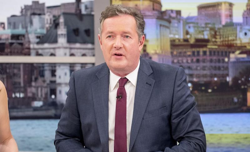 Piers' latest tweets sparked outrage, with some people accusing him of showing 'absolute ignorance' (Photo: Ken McKay/ITV/REX/Shutterstock)