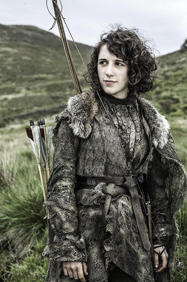 "Ellie Kendrick in the ""Game of Thrones"" Season 3 premiere, ""Valar Dohaeris."""