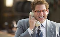 <p>Jonah stole the show in 'The Wolf Of Wall Street' as real-life fraudster Danny Porush (called Donnie Azoff in the movie). Holding his own alongside Leo DiCaprio looking a pretty normal and definitely more comfortable weight. <br></p>