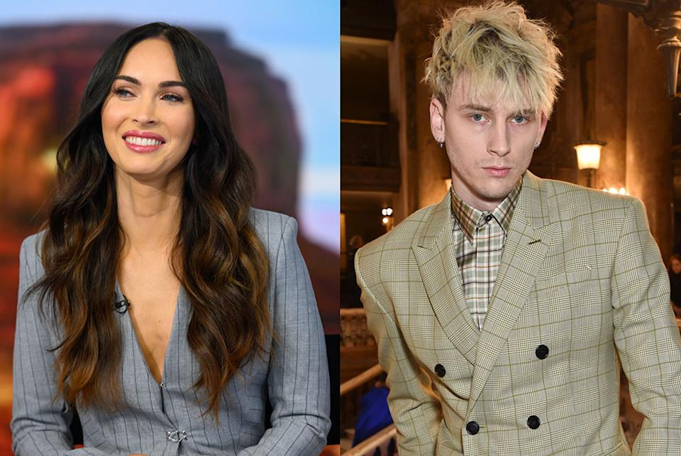 """Megan Fox says her """"heart shattered immediately"""" after meeting Machine Gun Kelly."""