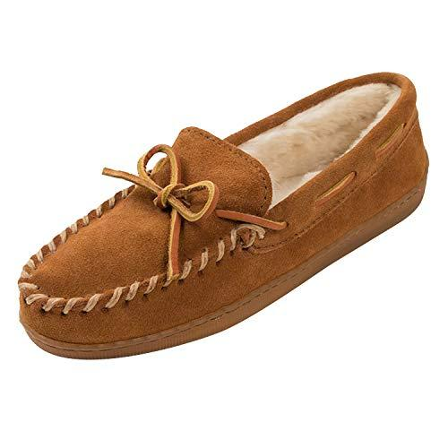 Minnetonka Men's 3902, Brown Suede, 10 D - Medium (Amazon / Amazon)