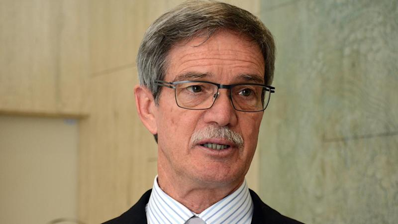 WA Treasurer Mike Nahan (pic) has labelled claims he sought a leadership spill as 'bizarre'.