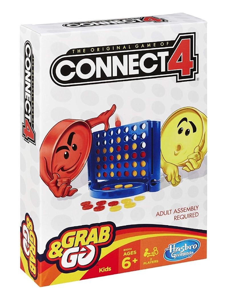 Connect 4 Grab and Go Game - car games for kids