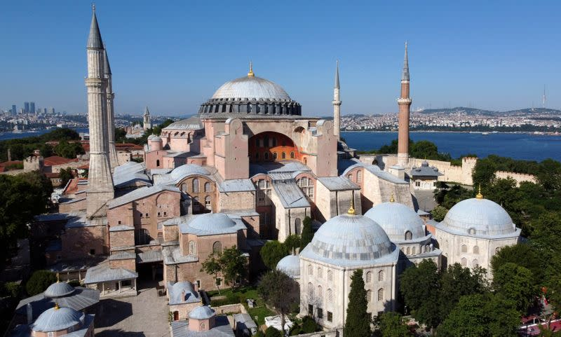 Greece urges Turkey to keep Hagia Sophia as museum