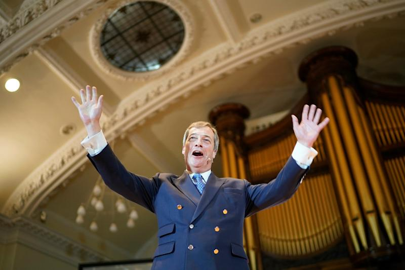Nigel Farage, leader of the Brexit Party (Getty Images)