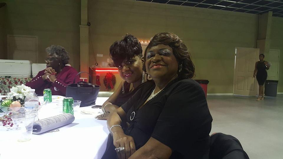 """Yolanda Brooks, left, seen here with her mother and  """"best friend"""" Dorothy Babino-Dixon."""
