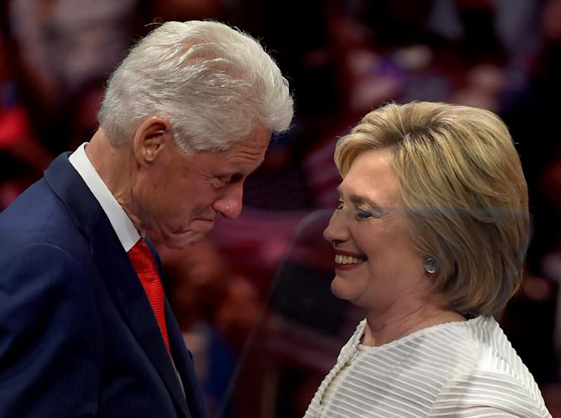 Former US president Bill Clinton will take center stage at the Democratic National Convention to reassure party members that his wife Hillary is the best candidate to take on Republican Donald Trump (AFP Photo/Timothy A. Clary)