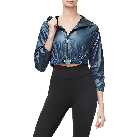 Good American Women's Cropped Jacket