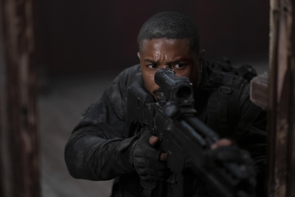 Michael B. Jordan plays the Tom Clancy hero, John Clark in 'Without Remorse' (Photo: Nadja Klier/Paramount Pictures)