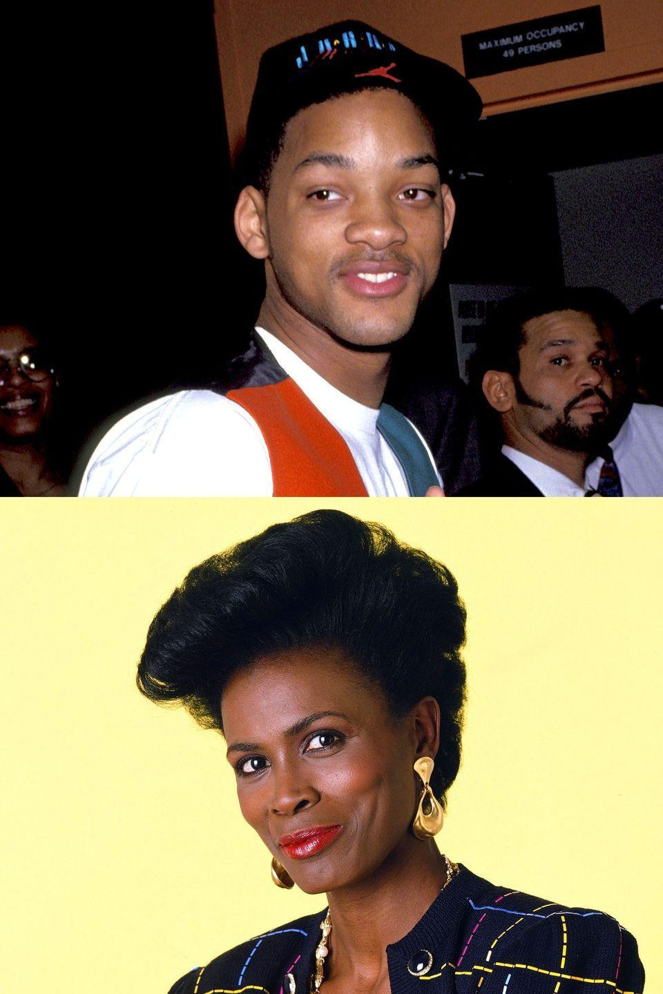 "<p>Now this is a story all about how…Aunt Viv's life got flipped-turned upside down. Janet Hubert starred as the matriarch on <em>The Fresh Prince of Bel-Air </em>for three seasons but was suddenly fired in 1993 and replaced with Daphne Maxwell Reid. Smith addressed the exit in <a href=""http://ew.com/tv/2017/03/31/fresh-prince-aunt-viv-slams-costars/"" rel=""nofollow noopener"" target=""_blank"" data-ylk=""slk:a radio interview"" class=""link rapid-noclick-resp"">a radio interview</a>: ""I can say straight up that Janet Hubert wanted the show to be <em>The Aunt Viv of Bel-Air Show </em>because I know she is going to dog me in the press."" That she did. In <a href=""https://books.google.com/books?id=OMEDAAAAMBAJ&pg=PA59#v=onepage&q&f=false"" rel=""nofollow noopener"" target=""_blank"" data-ylk=""slk:an interview with Jet"" class=""link rapid-noclick-resp"">an interview with <em>Jet</em></a>, she claimed Smith got her fired because she had to reprimand ""him constantly for being rude to people and locking himself up in his room."" Hubert <a href=""http://abc7.com/archive/8482845/"" rel=""nofollow noopener"" target=""_blank"" data-ylk=""slk:unsuccessfully sued"" class=""link rapid-noclick-resp"">unsuccessfully sued</a> Smith for ""slander, negligence, and emotional distress"" later that year, and decades later, she <a href=""http://ew.com/tv/2017/03/29/fresh-prince-reunion-janet-hubert/"" rel=""nofollow noopener"" target=""_blank"" data-ylk=""slk:still hates"" class=""link rapid-noclick-resp"">still hates</a> his guts.</p>"