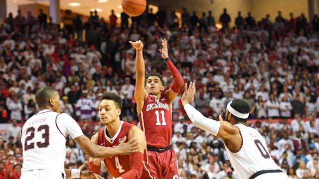 Oklahoma freshman guard Trae Young will forego his remaining college eligibility and enter the NBA draft.