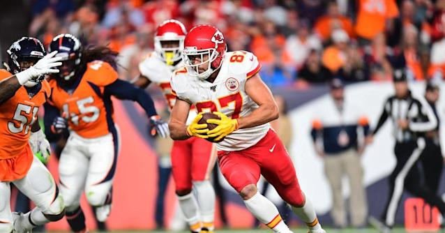 """Travis Kelce says Chiefs will """"battle with whoever is on that field"""""""