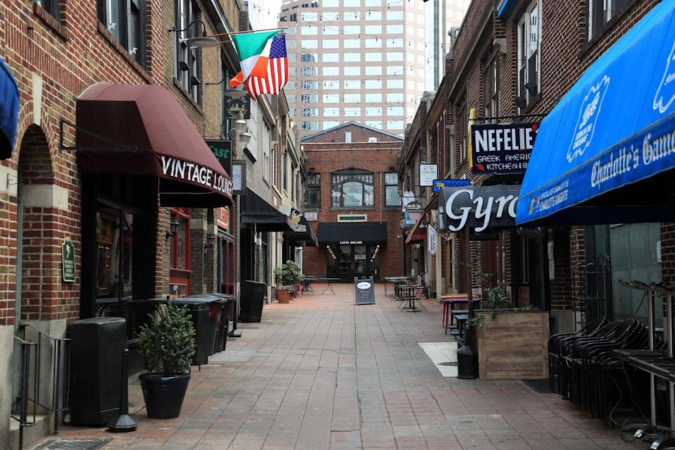 <p>North Carolina's restaurants are part of the second phase of reopening, and though there's no specific date for the second phase, it could be by the end of May.</p>