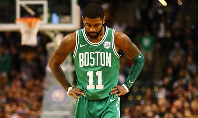 """<span class=""""element-image__caption"""">LeBron James's departure from the Cavaliers opens the way for teams such as the Celtics in the East.</span> <span class=""""element-image__credit"""">Photograph: Tim Bradbury/Getty Images</span>"""