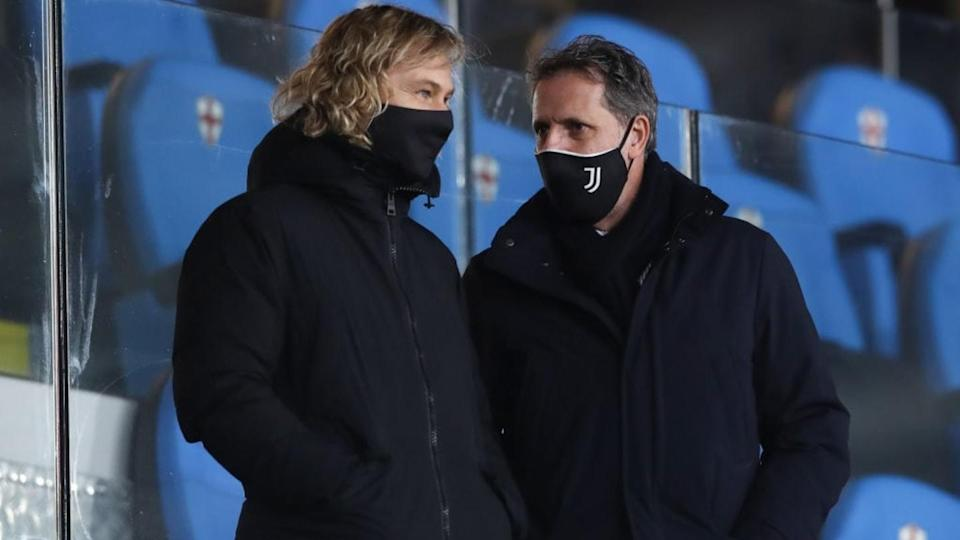 Nedved e Paratici | Jonathan Moscrop/Getty Images