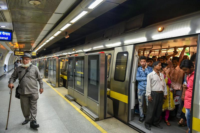 Delhi Metro Yellow, Blue and Red Lines to Switch to Eight Coaches
