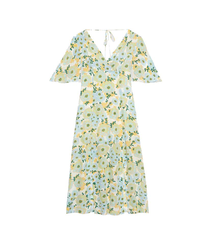 "<p>Long silk dress with floral print, $570, <a rel=""nofollow"" href=""https://us.sandro-paris.com/en/womens/dresses/long-silk-dress-with-floral-print/R20087E.html?dwvar_R20087E_color=80""> sandro-paris.com</a> </p>"